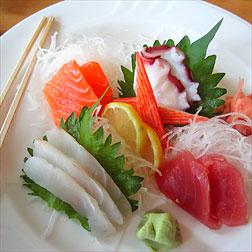 Le Japon en Cuisine Sashimi
